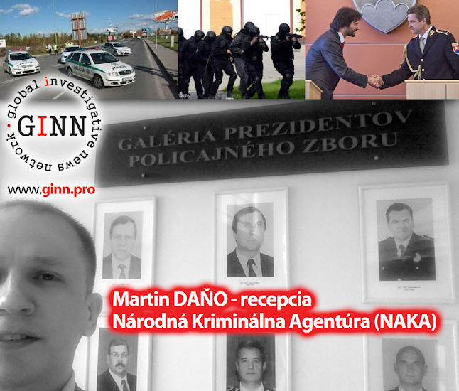 Martin Dano navštívil NAKA