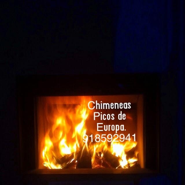 Chimeneas picos de europa fuego en chimenea de le a - Chimeneas picos de europa ...