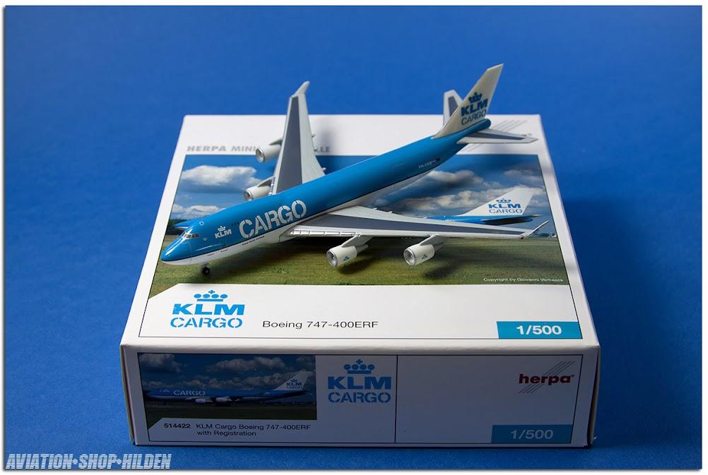 Airline memorabilia HERPA KLM Cargo Boeing 747400ERF