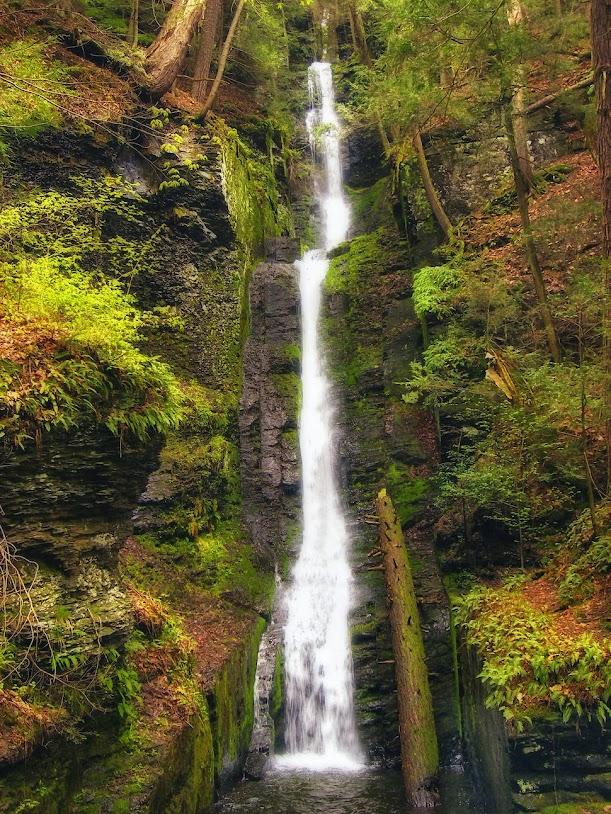 Силверсрид, Пенсильвания, США, Красивые водопады планеты