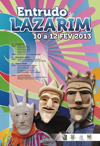 O Entrudo mais genuíno do país sai à rua em Lazarim