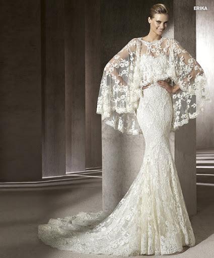 Menyasszonyi ruha 2012 Pronovias Erika