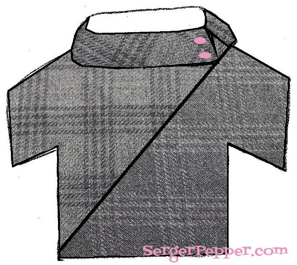 Serger Pepper - Colorblocking - How-to Step By Step + Tips