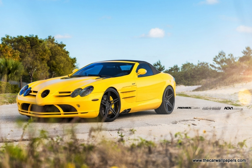 Mercedes SLR McLaren Powered by Renntech