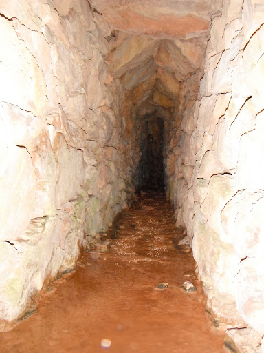 Interior de la segona mina