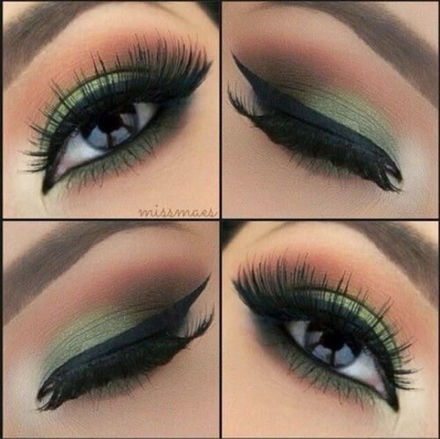 Como maquillarse para un vestido verde menta