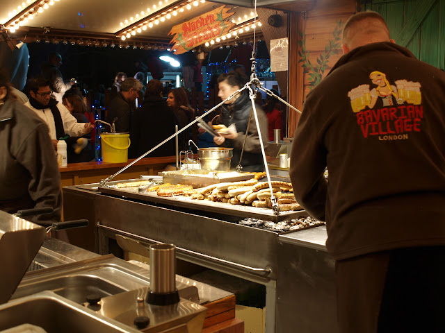 bratwurst hyde park winter wonderland london