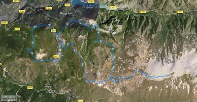 Les 2-Alpes Raidlight Trail - parcours