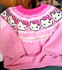 strikket tunika opskrift