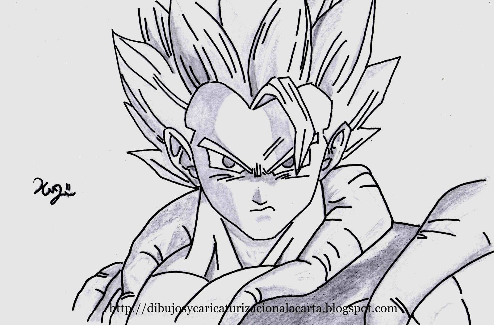 50 Imágenes De Goku Para Dibujar: Imagenesde99: Imagenes De Goku Faciles Para Dibujar