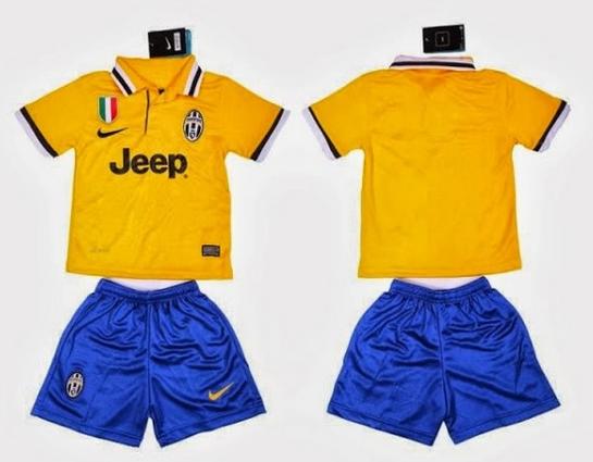 Jual Jersey Bola Anak Juventus Away 2014