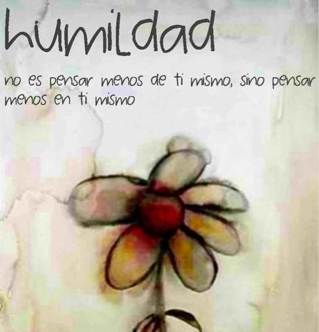 Humildad como valor - Imagui