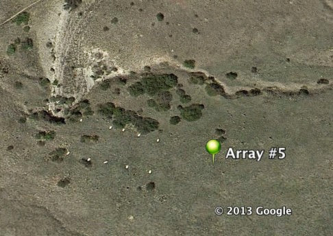 Google Earth Coverboard Array