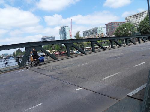 In bici sul ponte