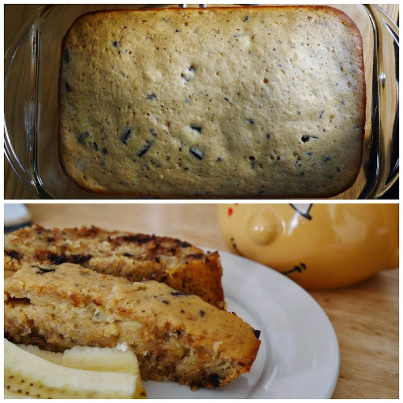 Chocolate Honey Banana Bread