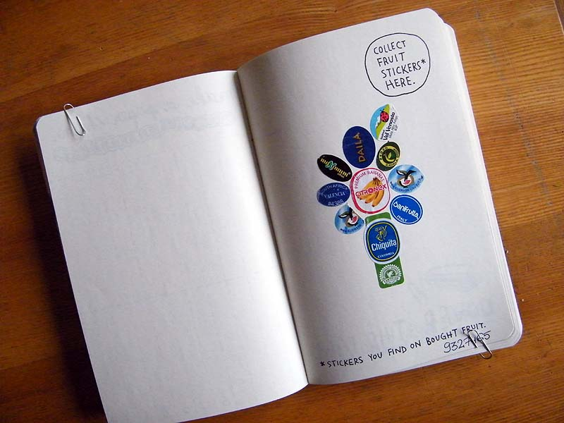 Habkowe Twory: Wreck This Journal