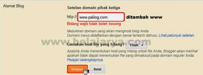 Cara Custom Domain Ganti blogspot.com jadi nama kesukaanmu melalui layanan cloudflare