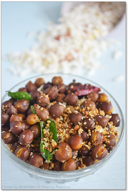Black Channa Sundal Recipe