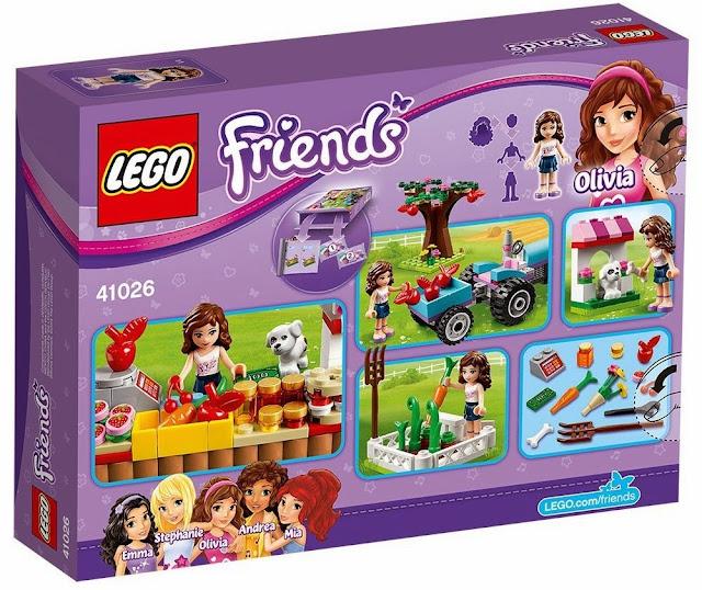 Lego 41026 Ngày mùa thu hoạch Sunshine Harvest được làm từ chất liệu nhựa cao cấp