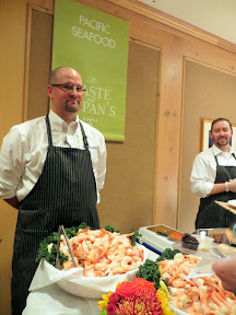 Taste of Zupan's- Pacific Seafood offering Jumbo Wild Domestic Cooked Prawns, Smoked Steelhead, Zupan's Cocktail Sauce