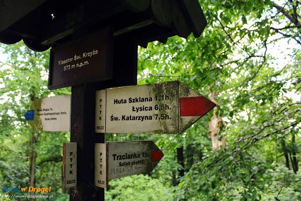 szlak na Święty Krzyż z Trzcianki