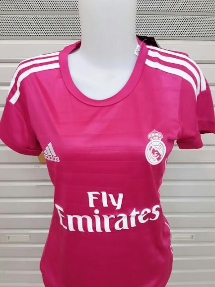 Jersey Cewek Real Madrid Away 2014-2015 Tanpa Kerah