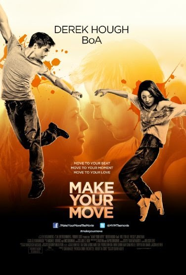 Poster Of English Movie Make Your Move (2013) Free Download Full New Hollywood Movie Watch Online At alldownloads4u.com