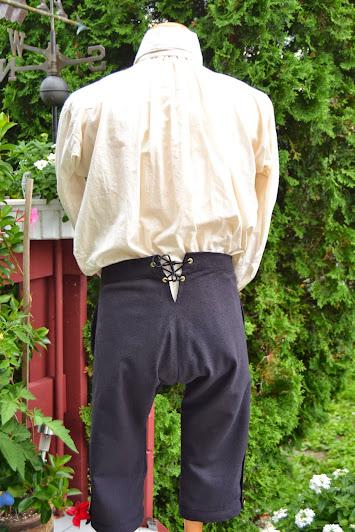 culotte vue de dos