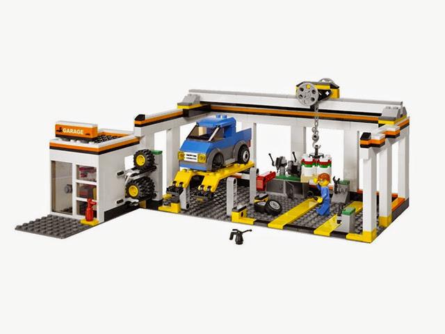 7642 レゴ 自動車修理工場(シティ)