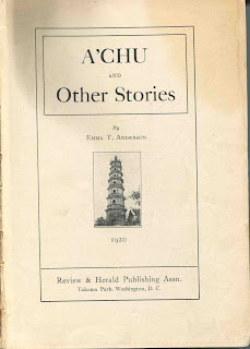 Book written by Emma Anderson and published by Review  & Herald Press in 1920.