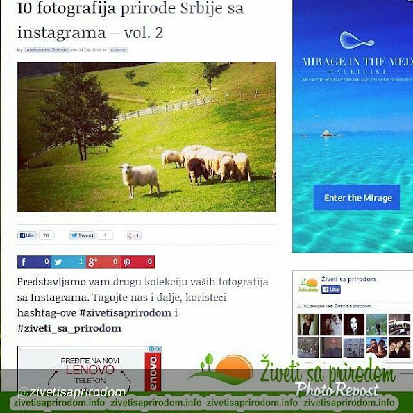 Cipelice Skitalice u portalu Živeti sa prirodom - fotografije Srbije