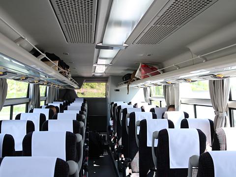 沿岸バス「特急はぼろ号」・392 車内