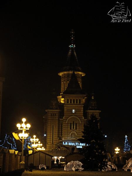 catedrala timisoara iarna 2014