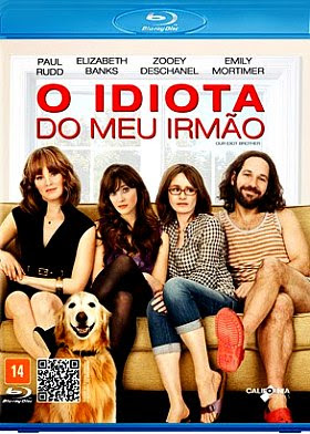 Filme Poster O Idiota do Meu Irmão BDRip XviD Dual Audio & RMVB Dublado