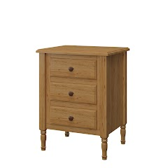 Farmhouse Nightstand with Drawers