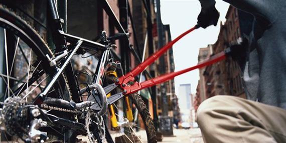 Denuncia de bici robada y Anuncio de bici abandonada a cambio, por si alguien la identifica como suya