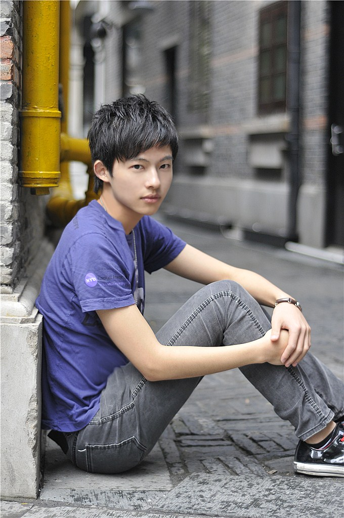 Young cute asian boy #14