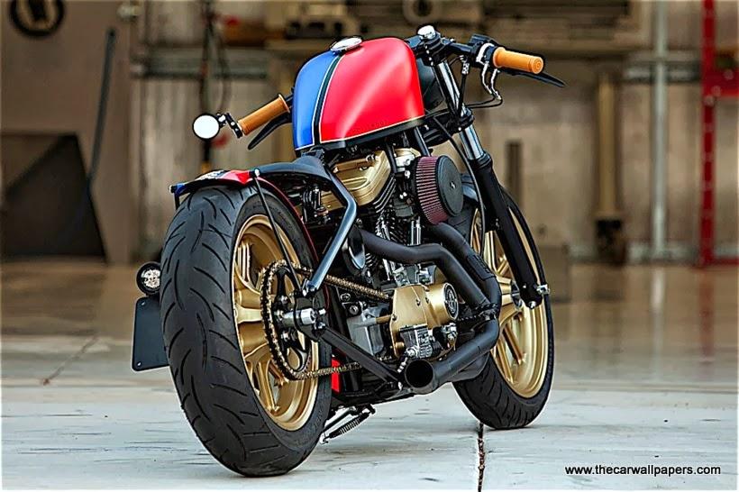 DP Customs Hollywood Harley Sportster Motorcycle