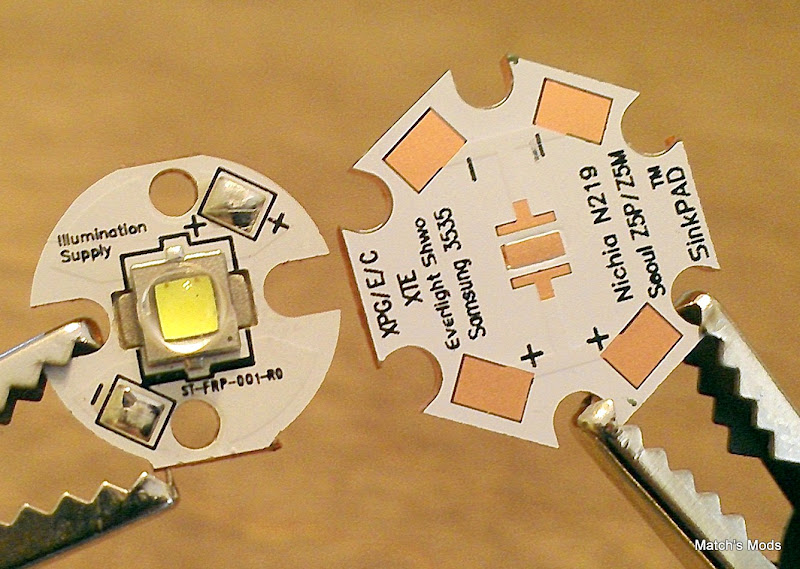 Emitter Test Results Illumination Supply Copper Pcb
