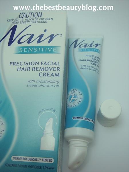 Nair, moustache, facial hair removal cream