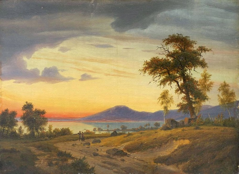 Johann Wilhelm Schirmer - Landschaft am Oberrhein