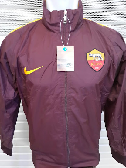 Jual Jaket Parasut AS Roma Home 2014-2015