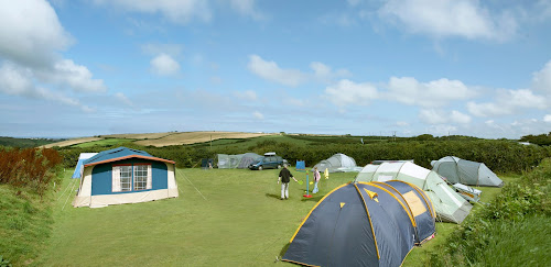 Camping  at Haven View Touring Park