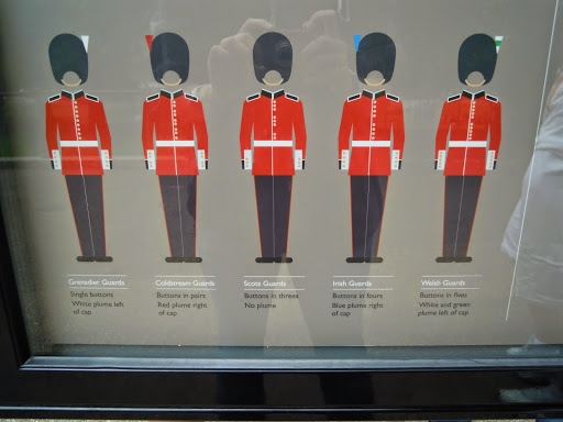 The Changing the Guard at Buckingham Palace