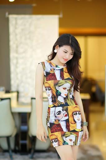 Nữ diễn viên Ly Na Trang yêu thích phong cách sexy