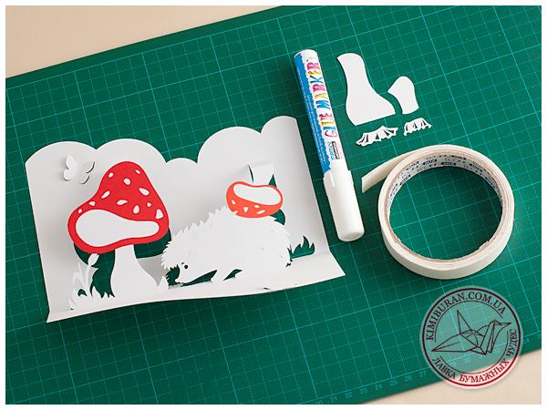 pop-up открытка своими руками