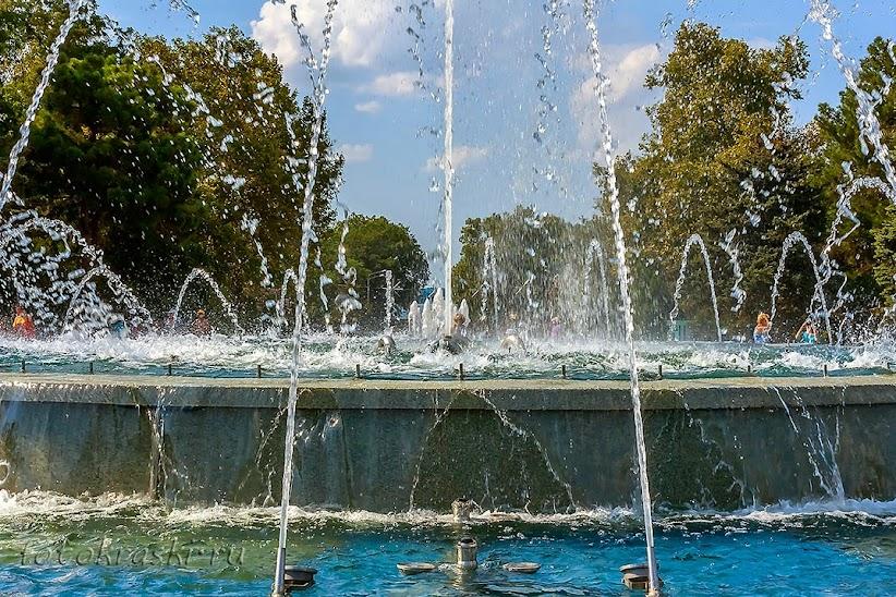Анапа, фонтан