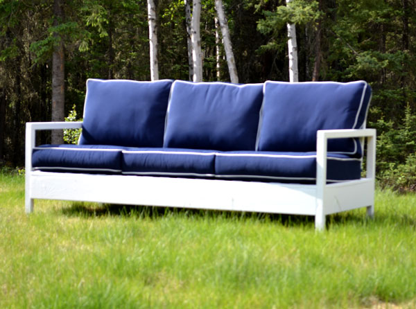 Diy Outdoor Furniture Couch