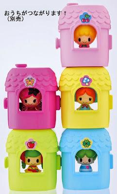 Ngôi nhà mini có thể chứa được búp bê Ageha