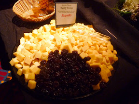 2013 Showcase of Wine and Cheese Boys and Girls Club Portland cheese buffet Saputo baby swiss
